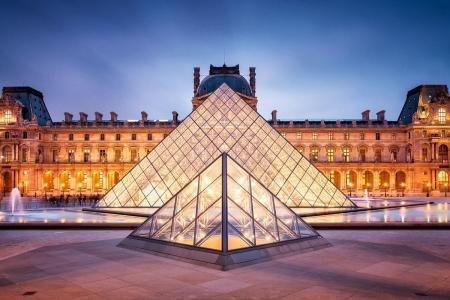 museum, The Louvre, Paris